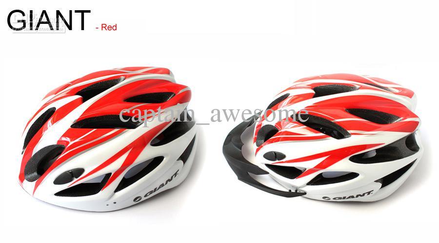 Casque de vélo GIANT 18 trous Un casque de vélo de course ultraléger intégré à vélo