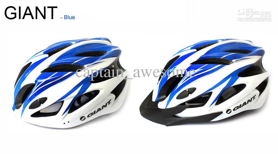 자전거 자이언트 헬멧 18 홀 통합 초경량 자전거 헬멧 자전거