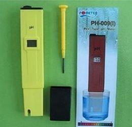 Medidor de água novo mini caneta tipo medida lcd ph medidor digital tester 0-14 piscina de aquário hidropônico em Promoção