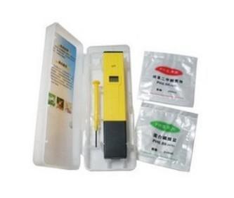 Wasserzähler neuer Mini-Stift Typ Messen Sie LCD-pH-Messgerät digitaler Tester 0-14 Hydroponic Aquarium Pool