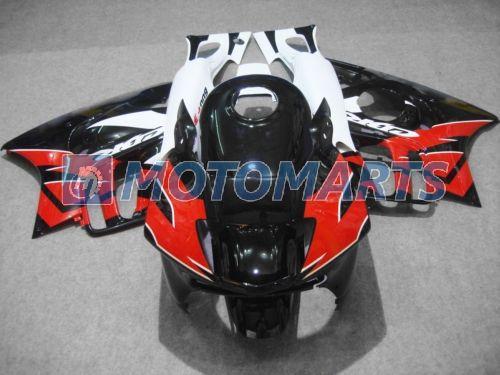 Juego de carenado ABS negro rojo blanco para 1997 1998 CBR 600 F3 97 98 CBR600 F3 CBR600F3 carenados de motocicletas carrocería