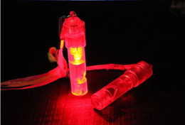 Wholesale Big Cake Boxes - Colorful flash light-emitting LED whistles Glow Toy Atmosphere props Concert activities cheer
