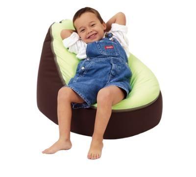 See larger image  sc 1 st  DHgate.com & Brown / Lime Green Baby Bean Bag Chair Doomoo Beanbag Sofa Seat ...