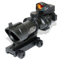 Wholesale Acog Auto - Trijicon ACOG TA31 Riflescope 4X32 Scope with Auto Red Dot-Black New