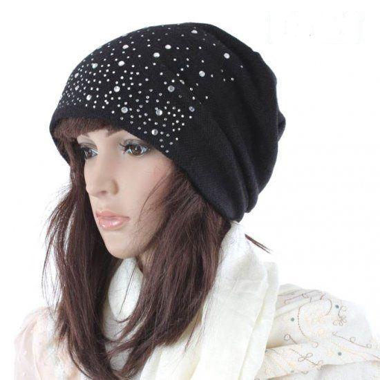 6745f77b671 ... Fashion Womens lady beanie crochet knit beret hat tamhat cap barret  cloche 20pcs LOT mixed