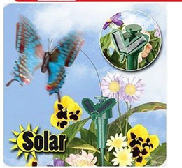 Attrayant Garden Plastic Butterflies Decoration Canada   Free Shipping Wholesale  72pcs Solar Power Flying Butterfly Garden Yard