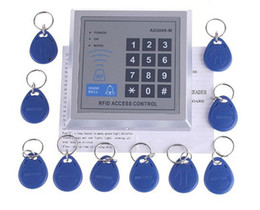$enCountryForm.capitalKeyWord Canada - Wholesale - RFID Proximity Entry Door Lock Access Control System with 10 Key Fobs, Free Shipping, Re