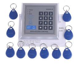 $enCountryForm.capitalKeyWord Canada - Wholesale - RFID Proximity Entry Door Lock Access Control System with 10 Key Fobs, Free Shipping, Re