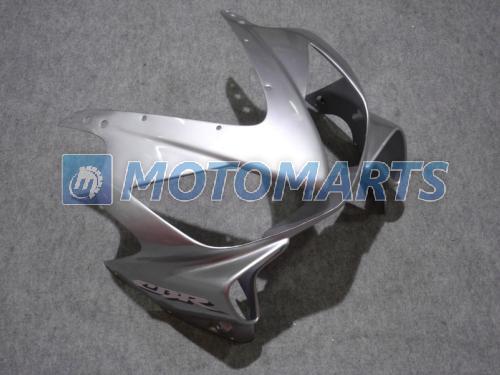 Schwarz-Silber-Einspritzungsverkleidungssatz für HONDA CBR 600 CBR600 f4i CBR600F4i 01 02 03 2001 2002 2003