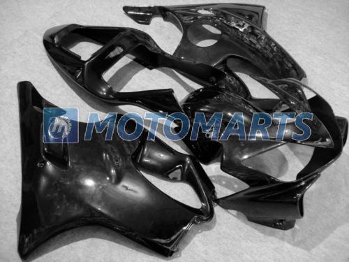 Todo el kit de carenado de moldeo por inyección negro CBR 600 CBR600 f4i CBR600F4i 01 02 03 2001 2002 2003