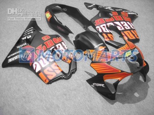 Conjunto completo Moldeado por inyección para CBR 600 CBR600 F4 CBR600F4 99 00 1999 2000 kit de carenado