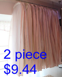 Wholesale Dress Dust Covers - Wholesale Free shipping Cheap 2 piece a lot Wedding Dress Bag Garment Cover Travel Storage dust coat
