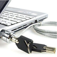 Wholesale Notebook Security Cable Lock - Notebook Laptop PC computer Security Lock Chain Cable 10pcs lot free shpping with tracking number