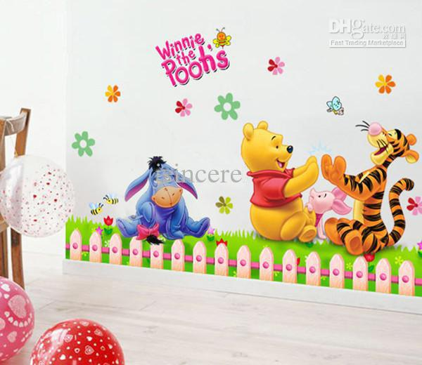 Winnie The Pooh Removable Wall Sticker Decal Kids Wall Stickers