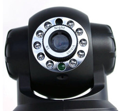 Wholesale Nightvision Ir - Promotion!!!free shipping Wireless WIFI IP Camera IR LED 2-Way Audio Nightvision CCTV camera