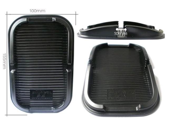 Frete grátis 5 pçs / lote Anti-derrapante Pad para iphone 4 telefone celular quadro multi-função caixa de armazenamento