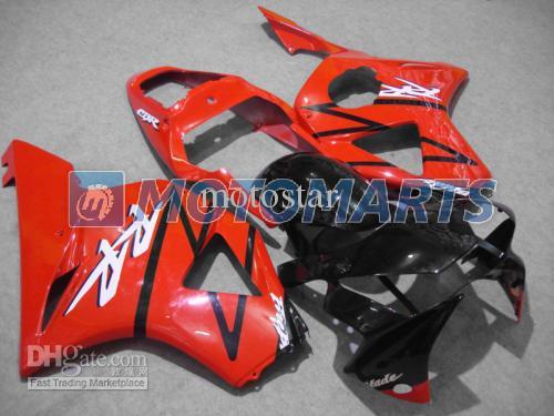 Orange black body fairings for HONDA CBR900 929RR CBR900RR 00 01 CBR 900RR CBR929 RR 2000 2001 road racing fairing kit