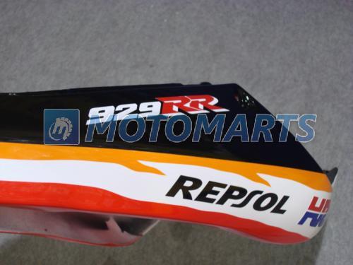 Kit de carenagem REPSOL para 00 01 CBR900 929RR CBR900RR 929 CBR 900RR CBR929 RR 2000 2001 carenagem