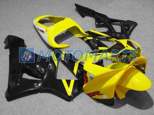 Cheap black yellow fairing set for 00 01 CBR900 929RR CBR900RR 929 CBR 900RR CBR929 RR 2000 2001 road racing fairings kit