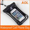 Waterproof Cell phone Bag Pouch Jacket Leather Case Cover Protective Skin for Cell Phone MP3 MP4