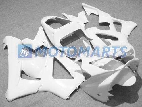 Kit de carénage Pure White pour 2000 2001 CBR900 929RR CBR900RR 00 01 929 CBR 900RR CBR929 RR