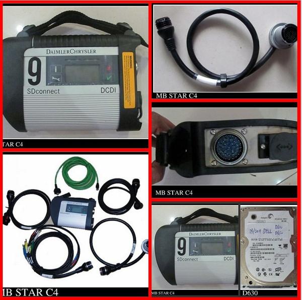 2012 neuestes Digiobd MB-STERN C4 SD VERBINDEN Stern-Vertrag 4 Multilanguage Diagnositic Werkzeug