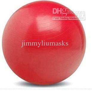 yoga palla, palla fitness, pilates palla, diametro di 85 centimetri, quattro colori, una pompa di aria libera piede