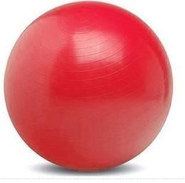 Palle di yoga gratuite online-Sfera di yoga, palla fitness, palla di pilates, diametro di 85 cm, quattro colori, una pompa d'aria a piede libero