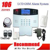 home alarmanlagen dialer großhandel-Beliebteste hohe Qualität GSM Wireless Alarmanlage Home Security Systems Voice + LCD Auto Dialer SG-111