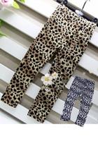 Wholesale Girl Tights Leopard - Girls Leopard Print Leggings Girls Leggings Girls Summer Clothes Kids Clothes Children Garment