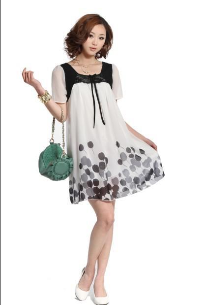 86a99dd7b99 2019 Maternity Dresses Korea Summer Chiffon Dress Maternity Dress Women  Maternity Skirt Hot Selling From Liqinghui2011