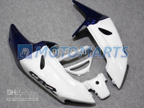 Custom Blue Silver Verkleidungssatz für CBR900RR 98 99 919RR CBR900 RR CBR919 CBR919RR 1998 1999 Motorradverkleidungssatz
