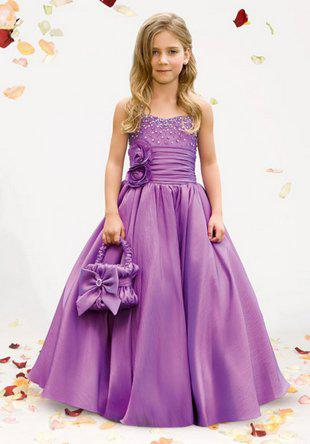 New childrens purple lace beads dress satin wedding dress flower new childrens purple lace beads dress satin wedding dress flower girl dresses kids gown custom girls wedding dress ivory tulle flower girl dress from junglespirit Images