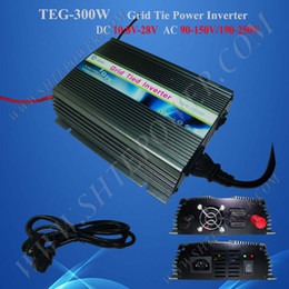 Wholesale Mppt Inverter - Best price dc 24v on grid tie solar power mppt 300w pv inverter with pure sine wave output