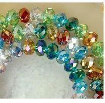 Cristallo borda multicolore di Swarovski 6x8mm