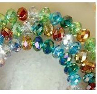 700pc Multicolor Perles Swarovski 6x8mm