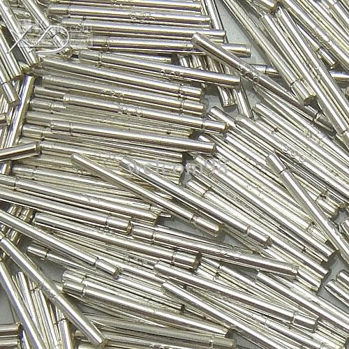 / lote 925 Sterling prata brinco achados de agulhas para jóias de artesanato diy 0,8x11mm wp744 *