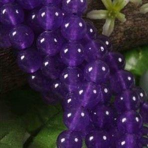 4 mm Russican pierres précieuses Améthyste ronde Perles 150