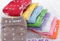 Wholesale Wholesale Baby Diapers Suppliers - 10 Diapers +10 Inserts Diapers Baby Cloth Diapers Suppliers Baby Diapering , 10pcs   lot, dandys