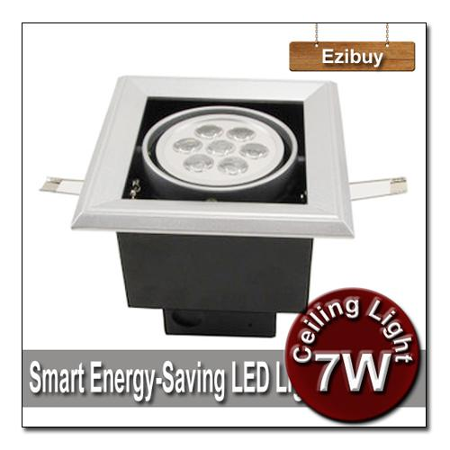 7w 7 1w led light ceiling light square recessed led spotlight led downlight led lamp led bulb led lighting good quality