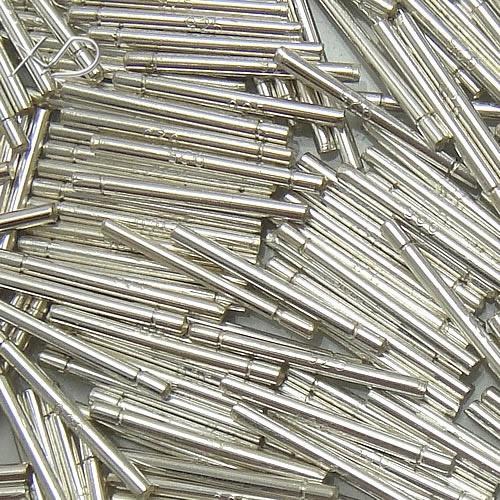 10 pares / lote 925 Sterling prata brinco pinos de achados de agulhas Componentes para DIY artesanato de jóias 0,6x5x14mm wp741