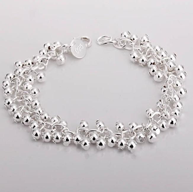 Silver Bracelet Women S 925 Sterling Silver Grape Cluster
