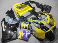 ветровое стекло honda оптовых-Бесплатный заказ кузова для CBR900RR CBR900 893RR 1996 1997 рублей CBR893RR CBR893 96 97 обтекатель комплект ветрового стекла