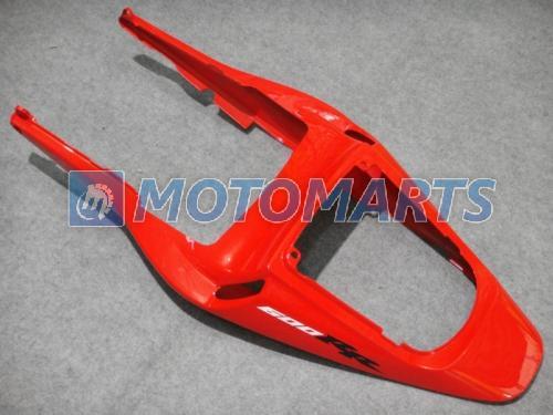 H6323 Carenado rojo moldeado por inyección para CBR600RR 2003 2004 CBR 600 RR 03 04 CBR600 kit carenados de carrocería