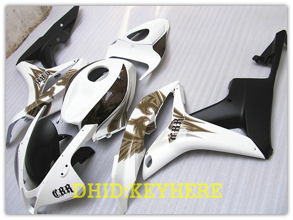 NL01 1 set Injection White cupolino ABS per CBR600RR 2007 2008, CBR 600RR F5 07 08 CBR 600 RR Fairings