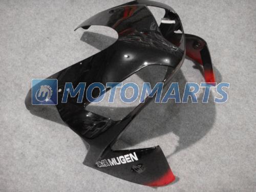 Rojo negro Kit de carenado del cuerpo moldeado por inyección PARA CBR600RR F5 2003 2004 CBR 600 RR 03 04 CBR600 600RR carenados de carreras