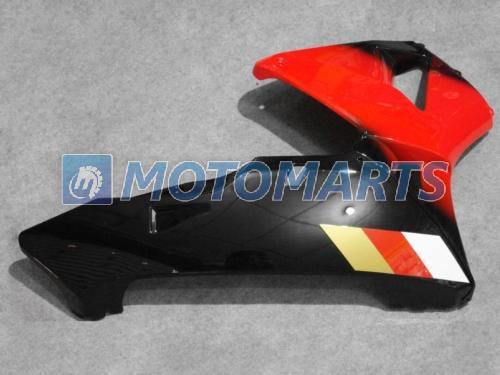 Kit de carenagem de corpo moldado por injeção vermelho preto para CBR600RR F5 2003 2004 CBR 600 RR 03 04 Carreiras de corridas de estrada CBR600 600RR