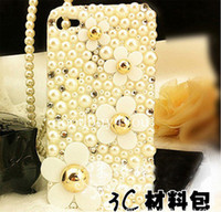 Wholesale Deco Diy Kit - Flatback Rhinestone Flower Scrapbooking   DIY Phone Case Deco Den Kit