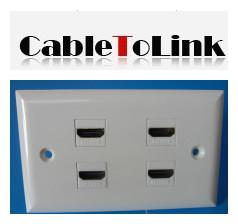 100pcs-lot-hdmi-4-port-wall-plate-outlet