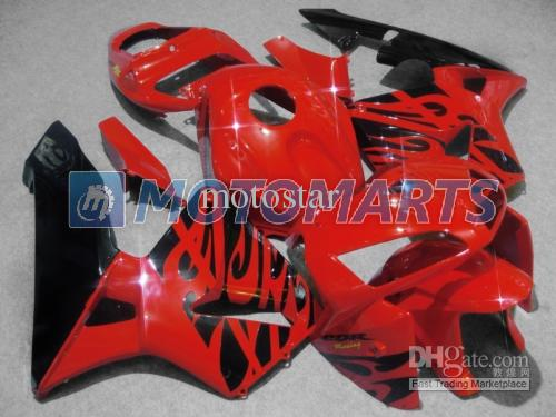 Black Red Injection mold Motorcycle Fairings kit for Honda CBR600RR 2005 2006 CBR 600 RR cbr600 05 06 aftermarket fairing kit